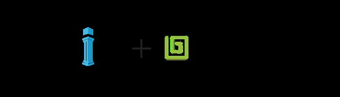 pillir and lemongrass logo for event landing page joint logo