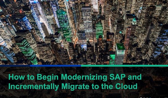 Lumen Pillir How to modernize SAP while increamentally migrate ot the cloud