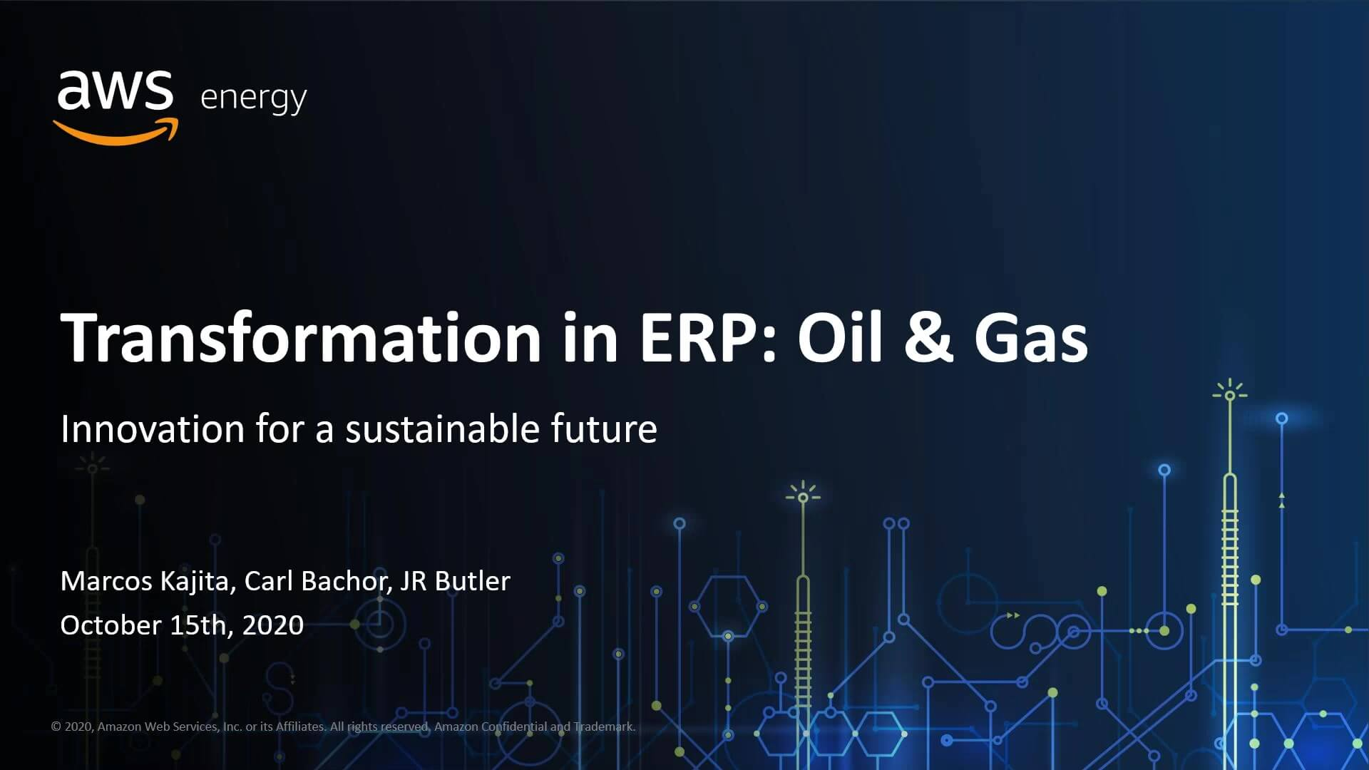 AWS & Pillir Session One_ Opportunities to Lower Costs in Today's Oil and Gas Processes-thumb