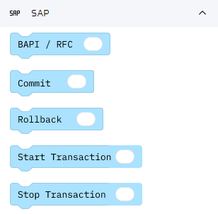 BAPI/RFC Adapter