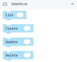 Salesforce adapter | Pillir