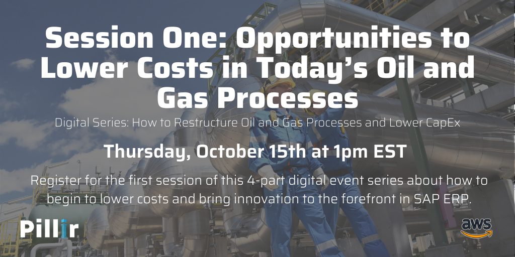 How to Restructure Oil and Gas Processes and Lower CapEx - LinkedIn - Session 1