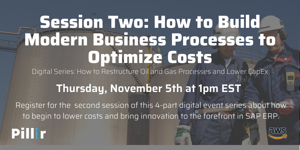 How to Restructure Oil and Gas Processes and Lower CapEx - LinkedIn Session Two